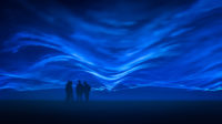 Blog header image showing Waterlicht Middelburg by Roosegaarde for the Marco.Lighting Blog