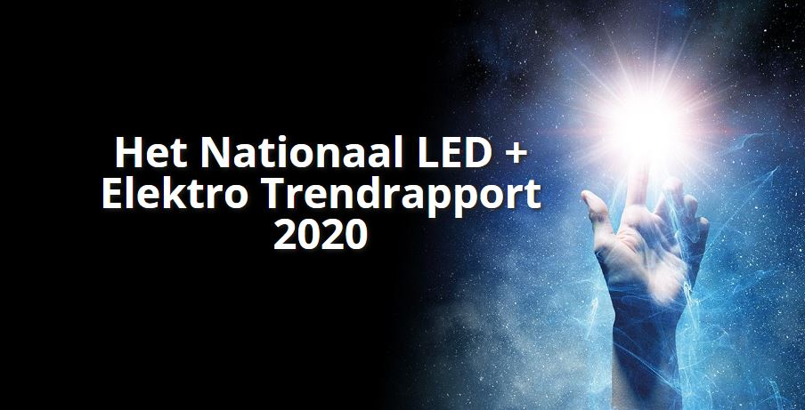 Header image for the announcement of the LED Elektro Trendrapport 2020 via Marco.Lighting